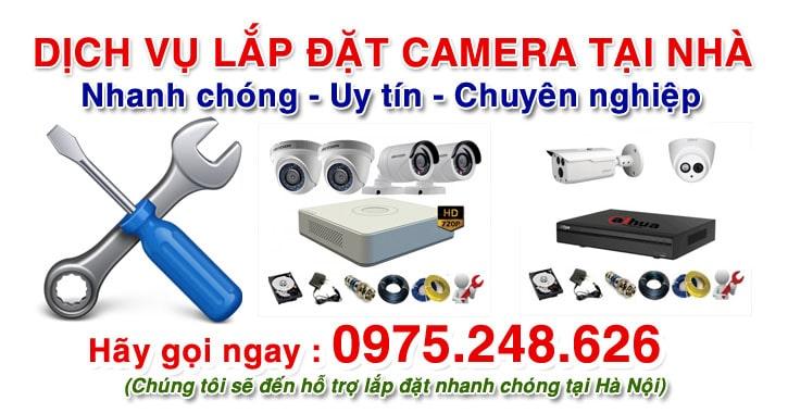 Lắp đặt camera giám sát tại nhà Hà Nội