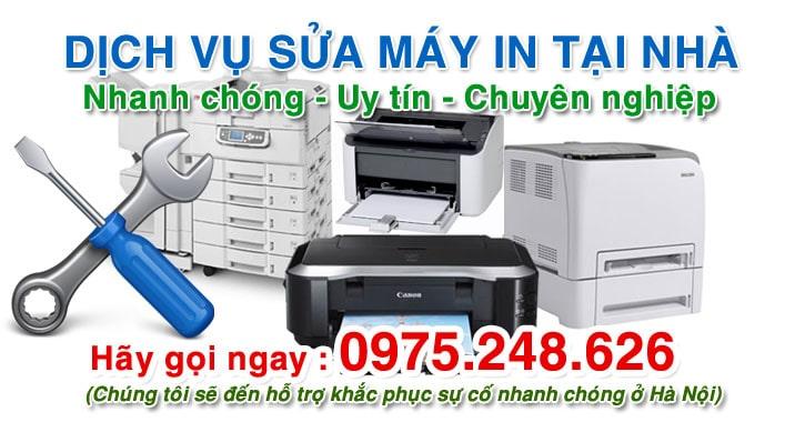 Dịch vụ sửa máy in tại nhà Hà Nội