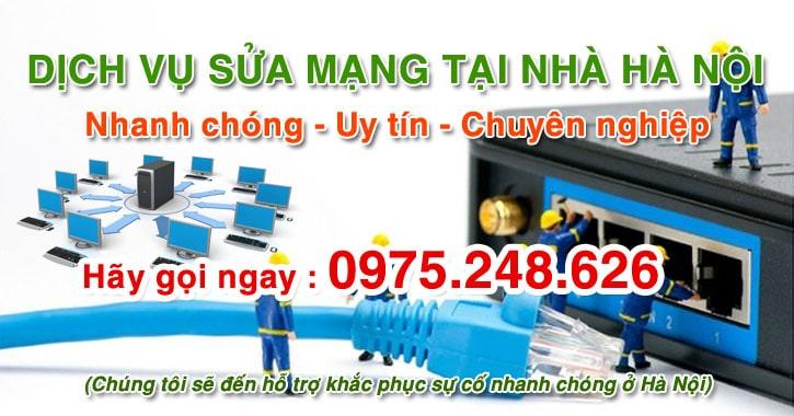 Sửa mạng tại nhà Hà Nội nhanh và uy tín nhất