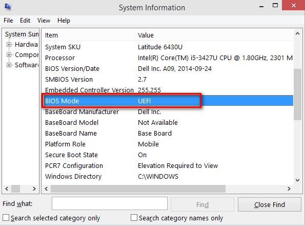 Chuẩn UEFI trên máy tính GPT