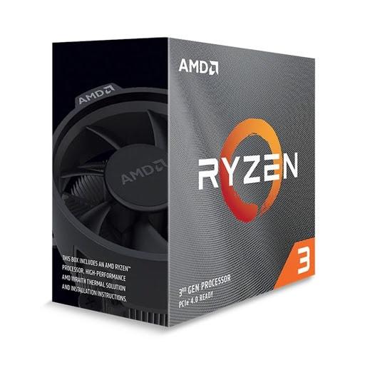 CPU AMD Ryzen 3 PRO 4350G MKP (3.8 GHz turbo upto 4.0GHz / 6MB / 4 Cores, 8 Threads / 65W / Socket AM4)